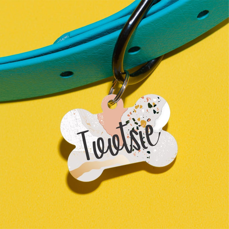 Minerals Pet ID Tag - The Dapper Paw