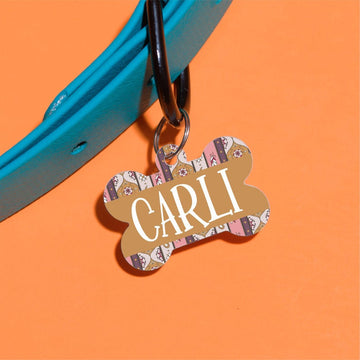Quilted by Carli Pet ID Tag