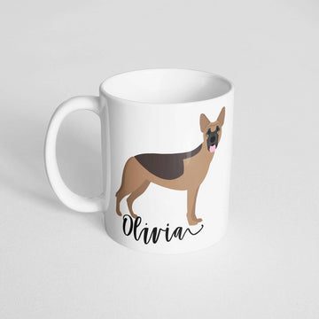 German Shepherd Mug - The Dapper Paw
