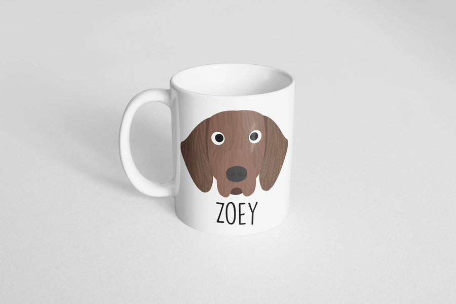 Plott Hound Mug - The Dapper Paw