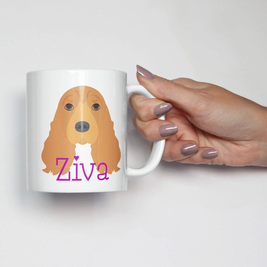 Cocker Spaniel Mug - The Dapper Paw