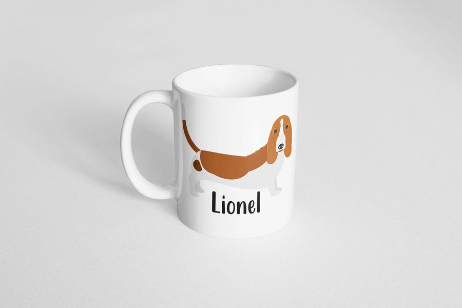Basset Hound Mug - The Dapper Paw
