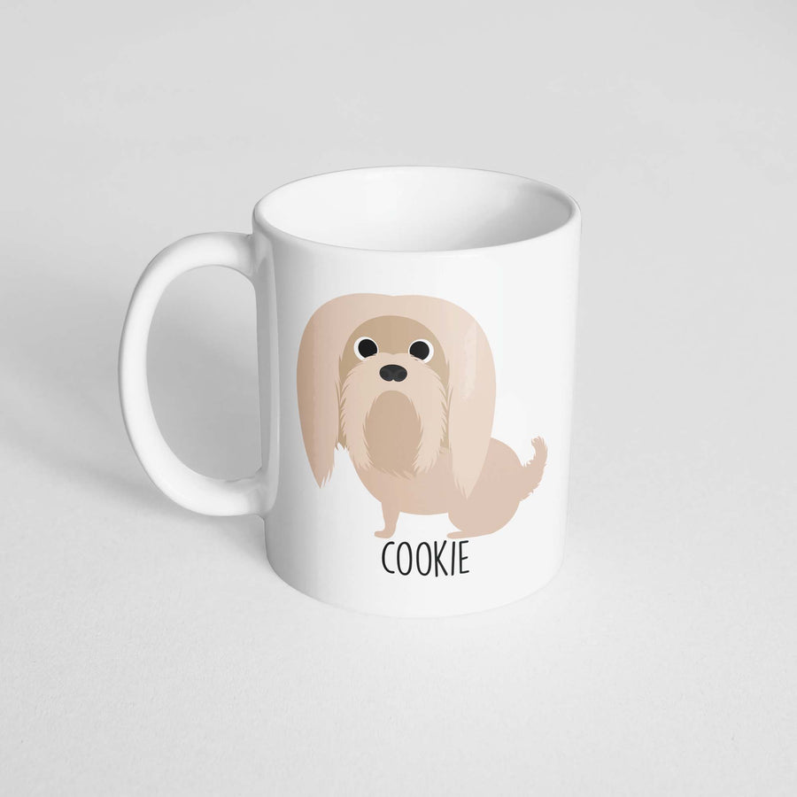 Lhasa Apso Mug - The Dapper Paw