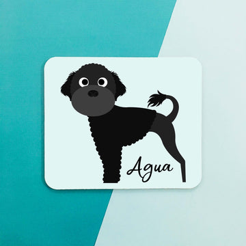 Portugese Water Dog Mouse Pad - The Dapper Paw