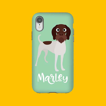 German Wirehaired Pointer Phone Case - The Dapper Paw