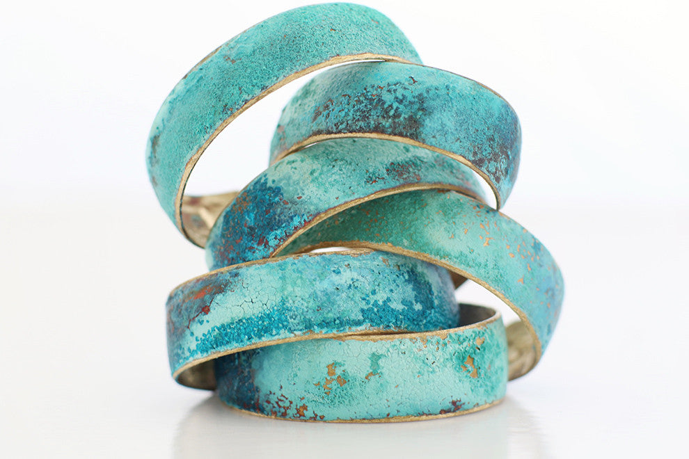 Medium Sized Patina Cuff