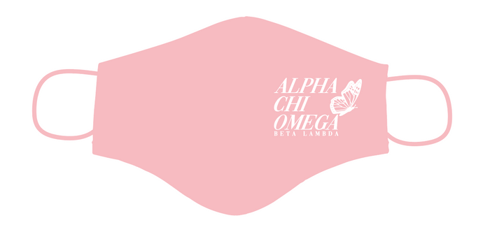 Alpha Chi - Beta Lambda Pink Mask