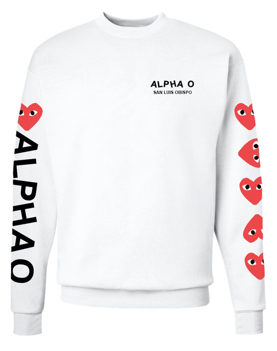 Alpha O SLO Crewnecks