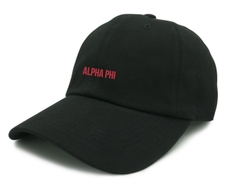 Sweethearts Week Hat - Black (Alpha Gamma Rho)