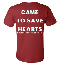 Sweethearts Week Shirt - Red (Theta Xi)
