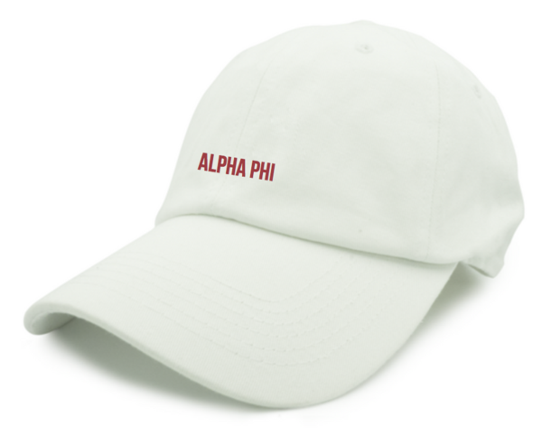 Sweethearts Week Hat - White (Phi Delta Theta)