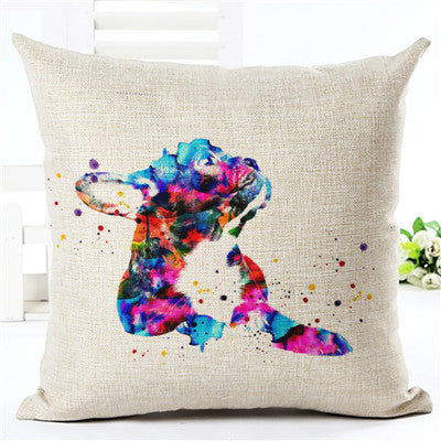 2017 Lovely French Bulldog Cushion Cover