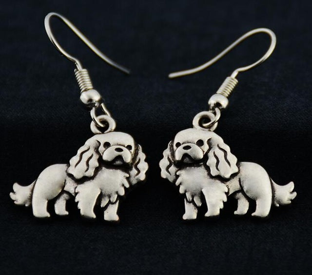 Silver Cavalier King Earrings - 2017 Edition