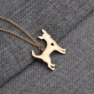 Chihuahua Golden Necklace - Always with me