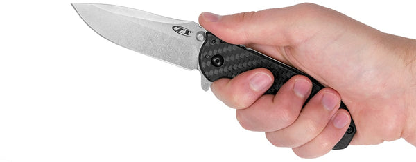 Zero Tolerance Knives Hinderer Framelock 0566CF Carbon Fiber Knife