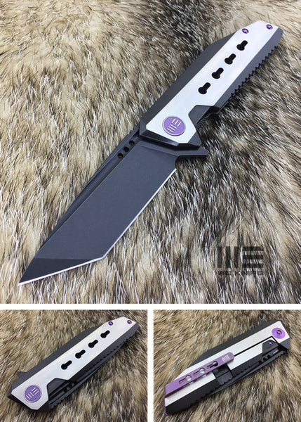 We Knife 602 602A S35VN Steel Titanium Handle Frame Lock
