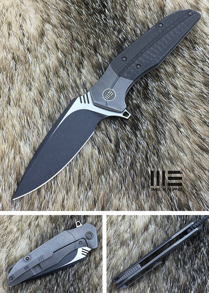 We Knife Nitida 707A S35VN Steel Titanium Handle Frame Lock