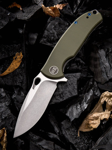 We Knife Rectifier 803B S35VN Steel G10 Handle Frame Lock