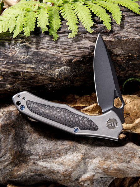 We Knife Vapor 804E S35VN Steel Titanium Handle Frame Lock