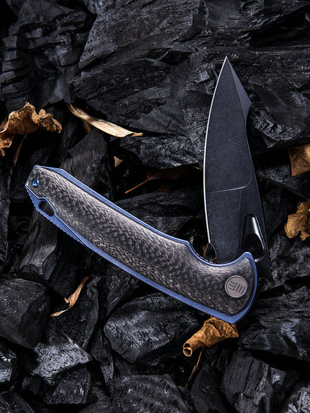 We Knife Yucha 810B S35VN Steel Titanium Handle Liner Lock
