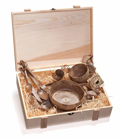 Kupilka Premium Wood Box Outdoor Dishware Set