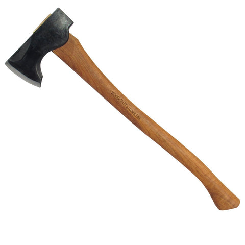 2 Pound Wood-Craft Pack Axe, 24″ Curved Handle, Mask