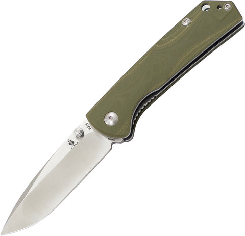 Kizer Vanguard V3 Vigor VG-10 Knife V3403A2 Green G-10 Handle