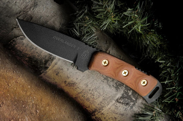 Tops Knives Overlander 2 Early American Pioneer Tribute Knife