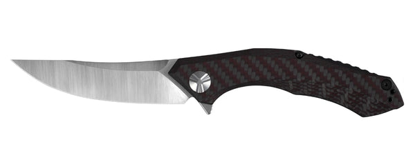 Zero Tolerance 0462 Knife Sinkevich Carbon Fiber Red Weave CPM 20CV KVT