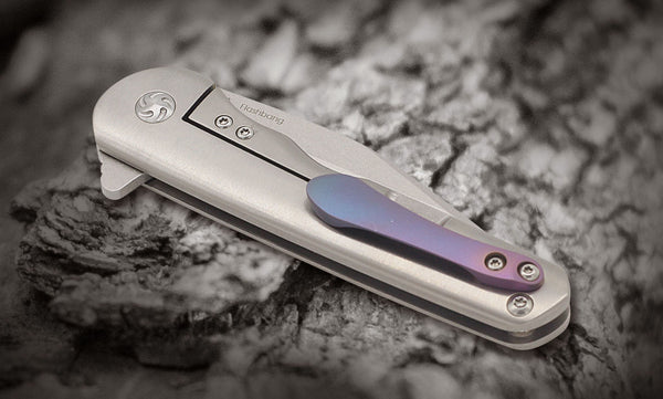 Kizer Mini Flashbang Skully Bohler M390 Flipper KI3454A2 Knife Titanium