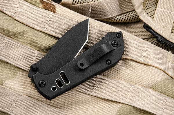 Tops Knives Mil-Spie 3.5 T-04 Folding Tanto Knife