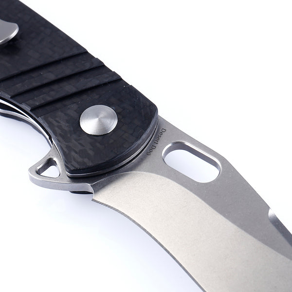 Kizer Cutlery KI4496 Desert Dog Carbon Fiber Handle S35VN Folder Knife