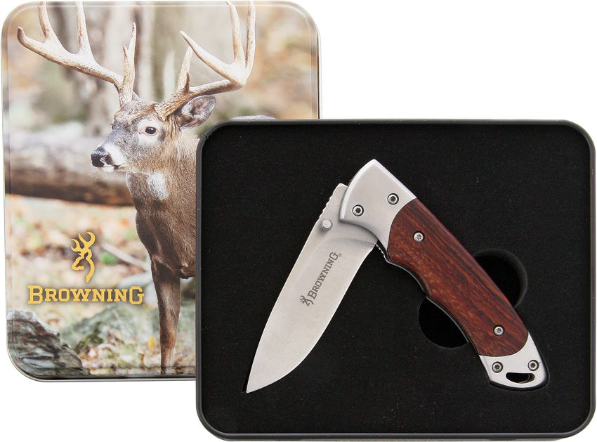 Browning Whitetail Linerlock With Tin 69