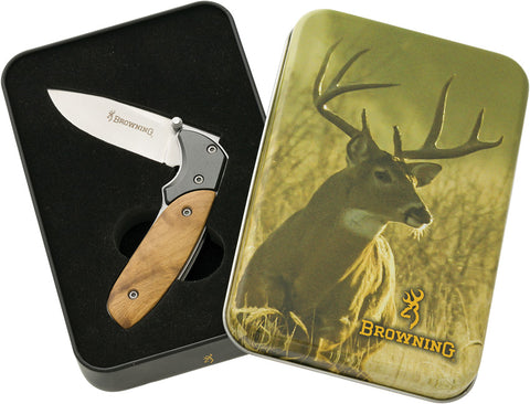 Browning Whitetail Linerlock Tin Set 322969B