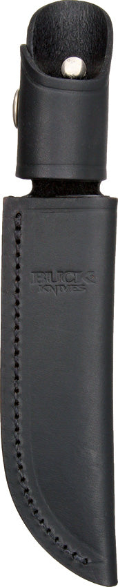 Buck Belt Sheath Black Leather 105S