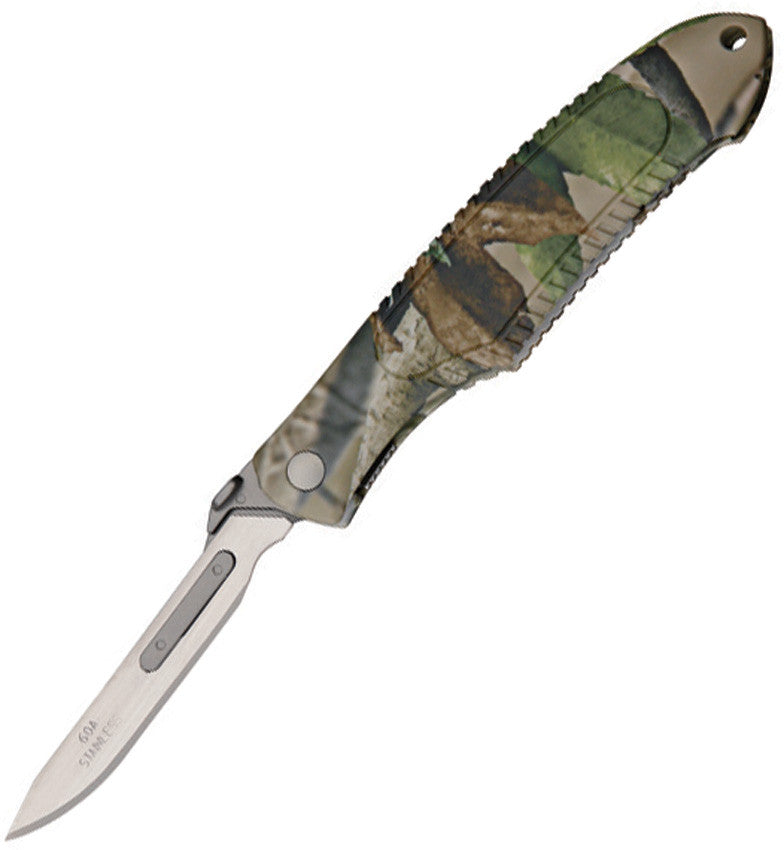Havalon Piranta Camo Quik-Change Knife