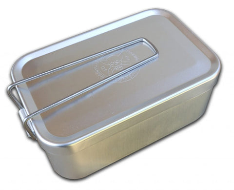 ESEE Randall's Adventure & Training Aluminum Mess Tin With Folding Handle