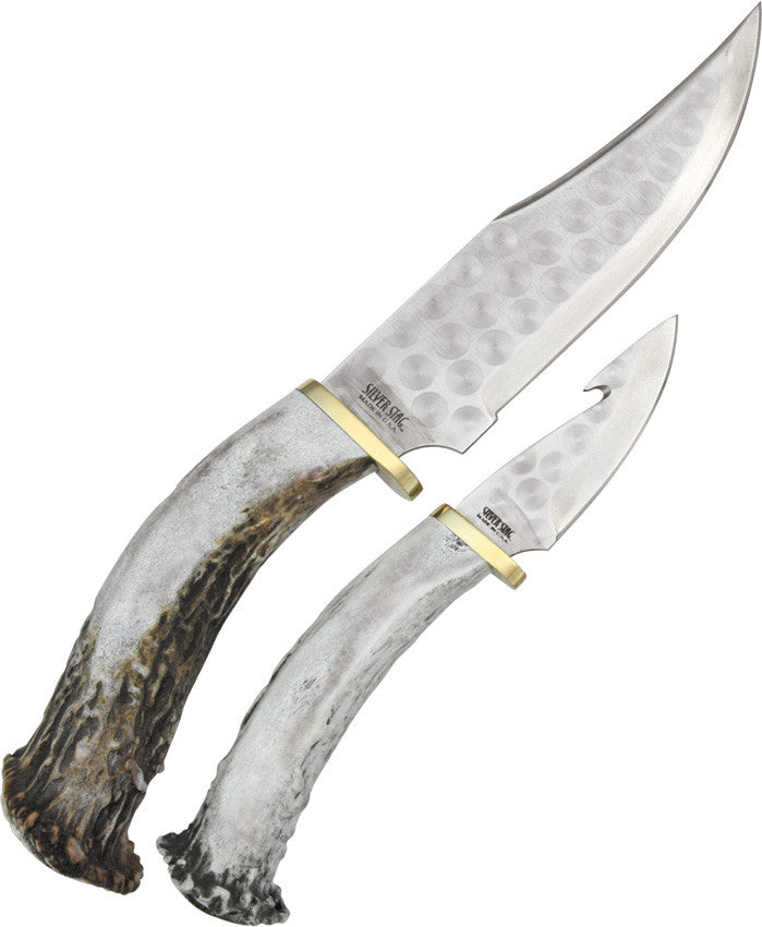 Silver Stag Hunter Knife Combo