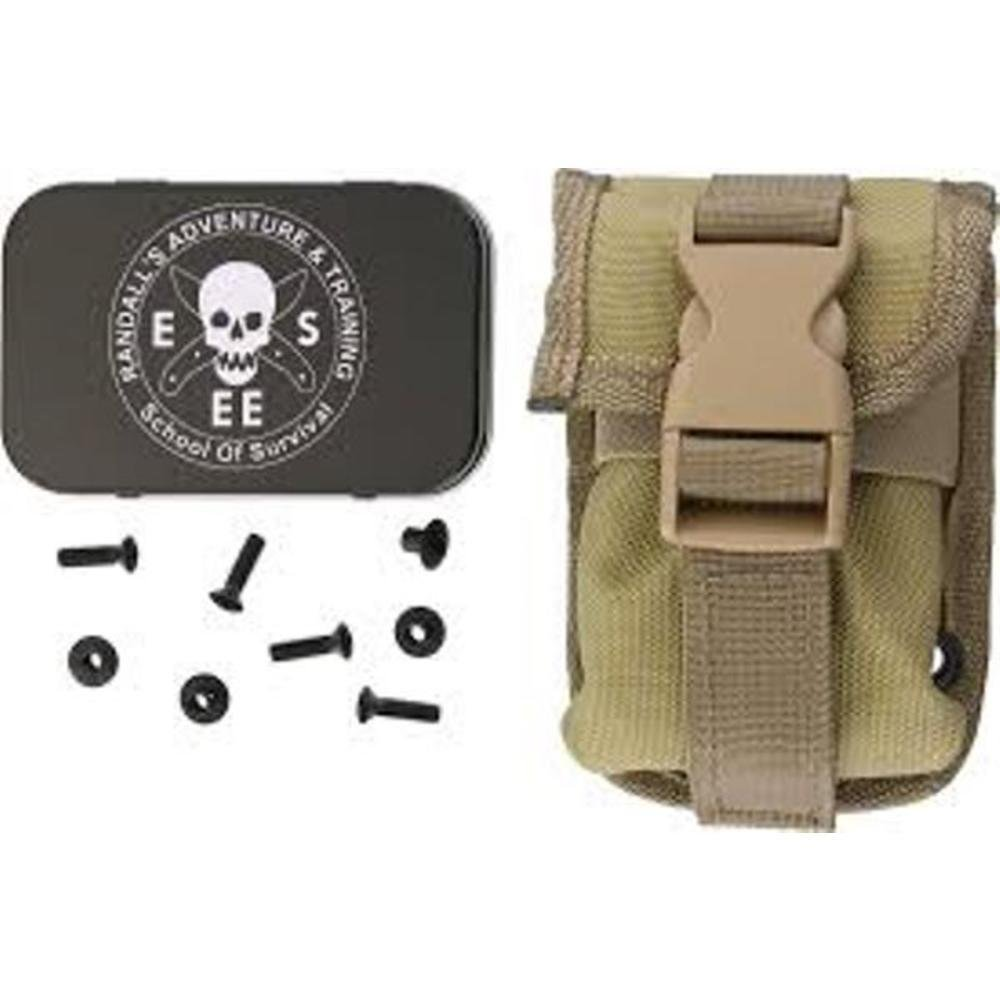 Khaki Accessory Pouch For ESEE-5 Sheath ESEE-52-POUCH-K