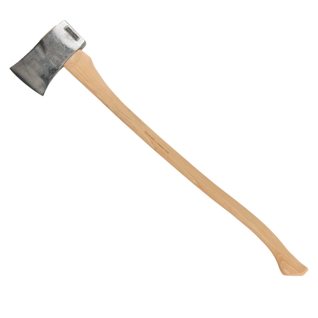 Council Tool Velvicut 4 lb Premium American Felling Axe with Sheath
