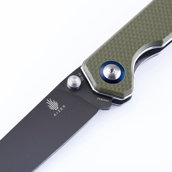 Kizer Begleiter V4458A2 Green VG-10 Folding Knife V4458
