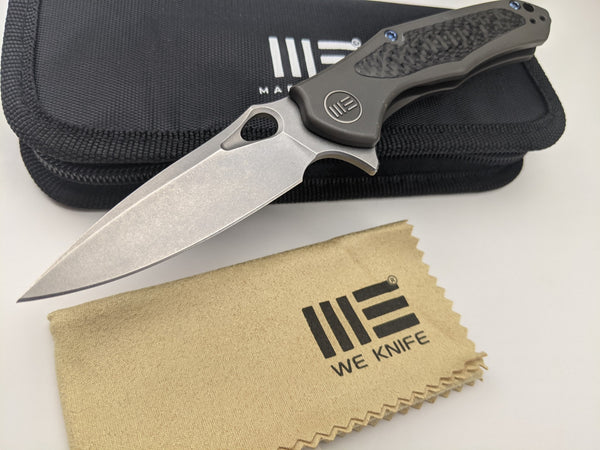 We Knife Vapor - Dark Gray Titanium Handle - CPM-S35VN Stainless Blade - 804D