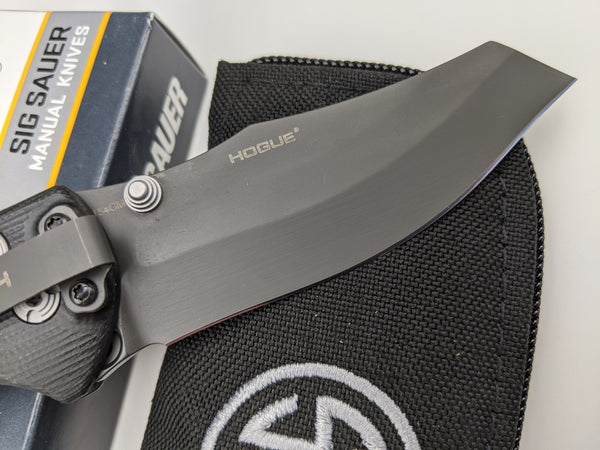 SIG SAUER by Hogue EX-04 Tactical Folder Knife Wharncliffe 154CM Blade 36462