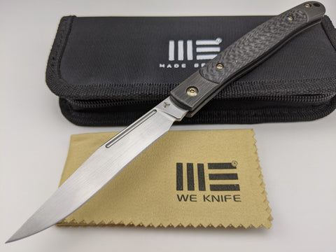 We Knife Gentry 902A Slip Joint Folding Knife CPM S35VN Blade Titanium Handle