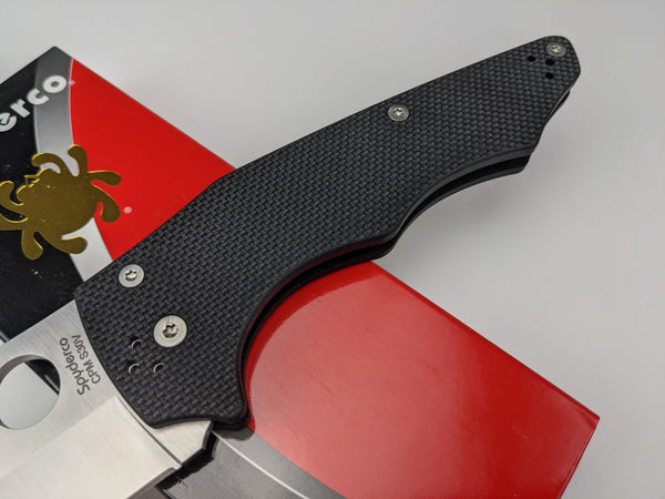 Spyderco YoJumbo Compression Lock Knife C253GP CPM S30V Wharncliffe Blade USA