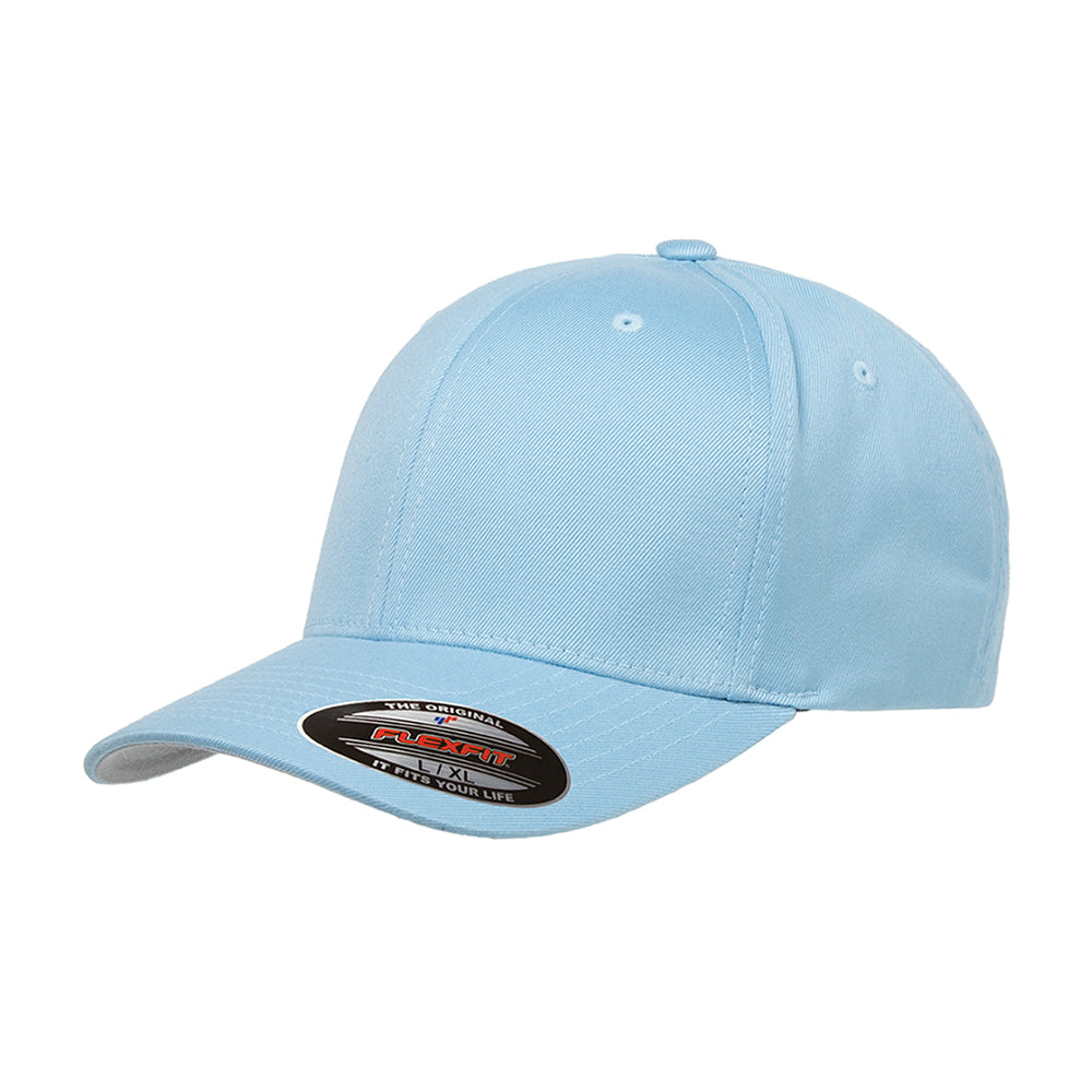 Flexfit Baseball Original Flexfit 6277 Carolina Blue Blå