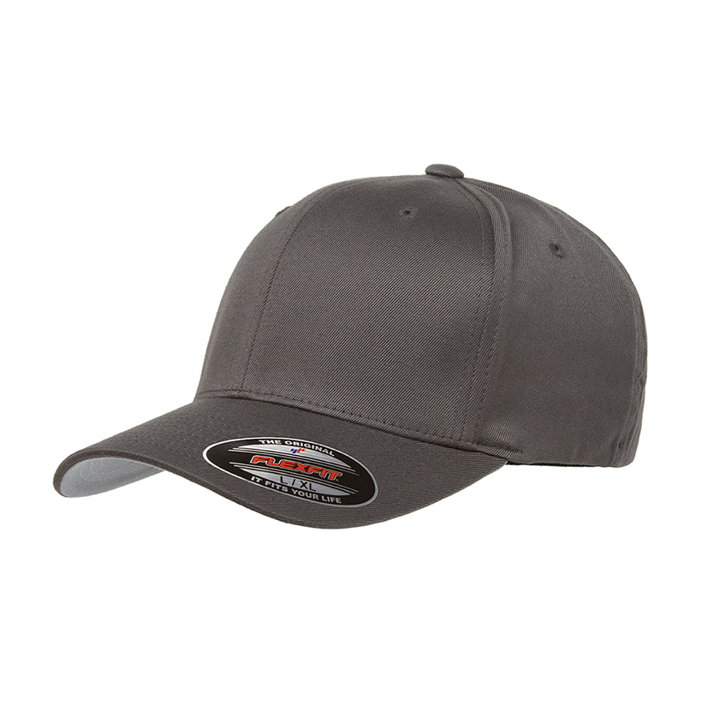 Flexfit Baseball Original Flexfit 6277 Dark Grey Mørkegrå