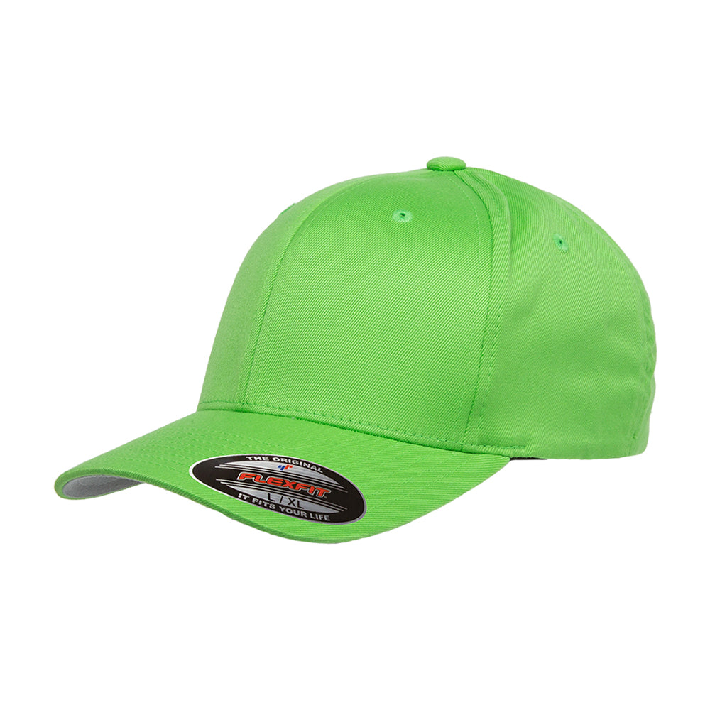 Flexfit Baseball Original Flexfit 6277 Fresh Green Grøn