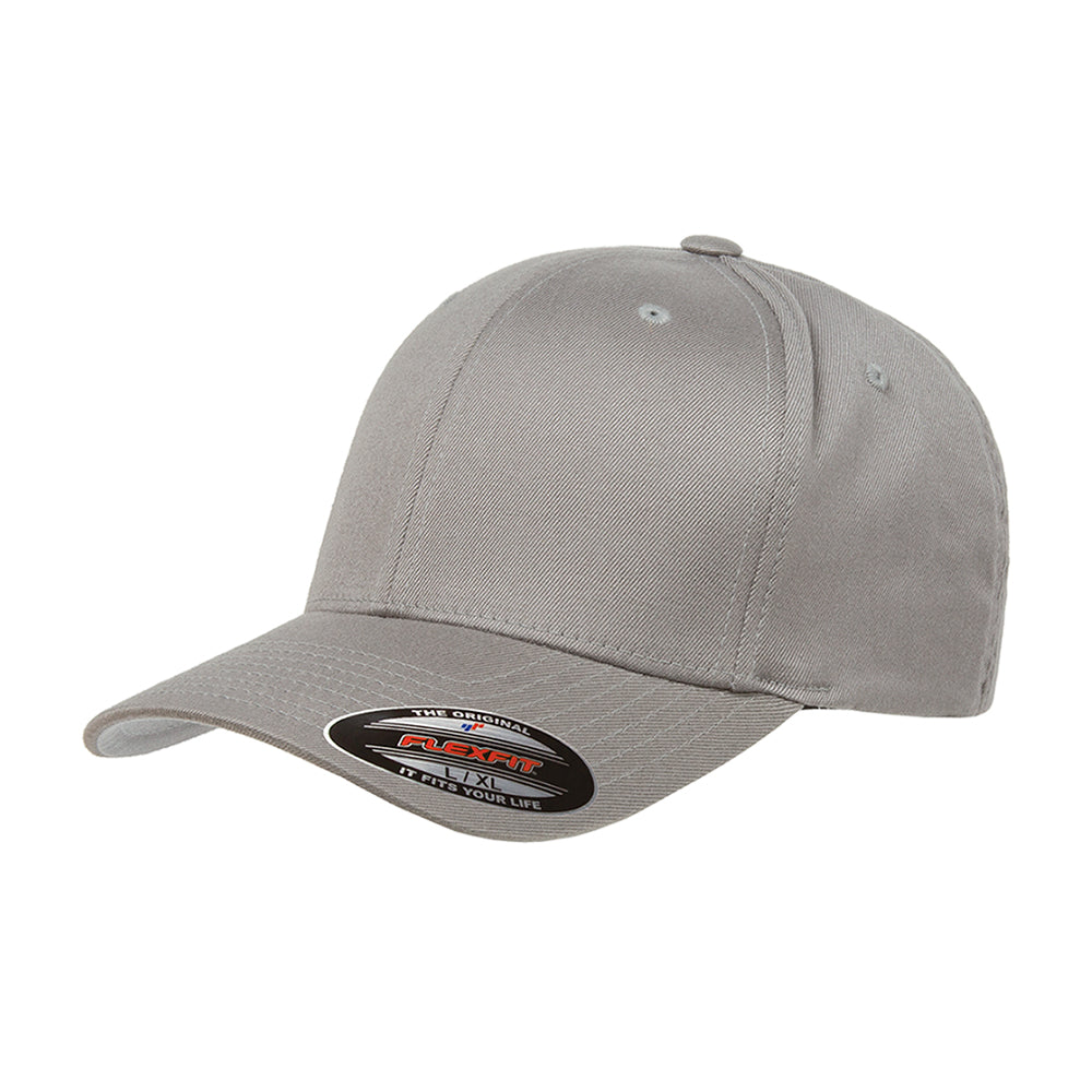 Flexfit Baseball Original Flexfit 6277 Grey Grå