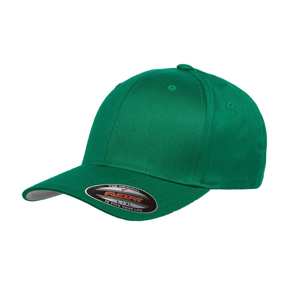 Flexfit Baseball Original Flexfit 6277 Pepper Green Grøn